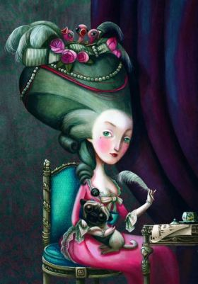 Le-Carnet-de-notes-Marie-Antoinette-de-Benjamin-Lacombe